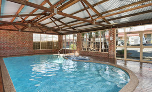 he property also has an indoor pool, BBQ area and free WIFI available to all rooms.
